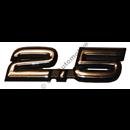 "Emblem ""2.5 - 20V"", 850 92-97, 900/S90/V90 94-98"