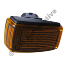 Side marker lamp yellow (black ground)