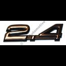 """Emblem """"2.4"""", 900"""