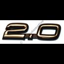 """Emblem """"2.0"""", 900 (Kina)"""