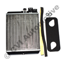 Heater core S60/S801/V70N/XC90 (for cars with AC/ECC)