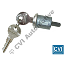 Boot/trunk lock, PV 444/PV544 (with correct length pushrod)