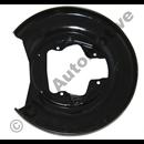 Backplate rear S60/80/V70N L/R S60 01-09/S80 99-06/V70N -08