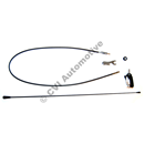 Radio antenna 245 manual rear (for rear roof side pillar)