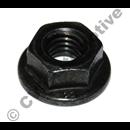 Flange nut water pump + Headlamp 240 (+ belt drive)