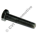 Connecting screw, distributor