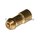 Bullet connector crimp-on type
