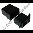 Connector box (complete) black