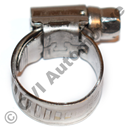 Hose clamp (stainless) 11-17 mm
