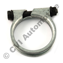 Exhaust clamp, 55 mm