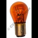 Glödlampa, park.ljus orange