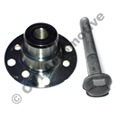 Puller for round flanges, gearbox & diff