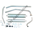 Exhaust system, P210 '61-'66