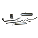 Exhaust system, P210 '67-'69
