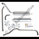 Exhaust system, PV 444/544 B16