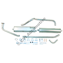 Exhaust system, PV 544 B18