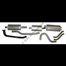 Exhaust system, 1800E/ES