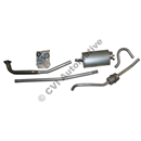 Exhaust system, Amazon wagon 67-69