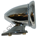 Cone shaped race mirror (convex glass)