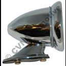 Cone shaped race mirror (convex glass)