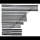 Styrlistsats, Amazon P120/P220, 4 dörrars