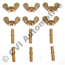 Pin wing screw set for impeller cover (for ball bearing pump)