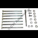 Bolt kit exhaust manifold AQ120B, AQ125A/AQ125A/B, 140A