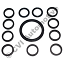 Gasket set for water pipe, AQ165A, BB165A + AQ170A/B/C, BB170A/B/C