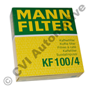 Coffee filter Mann, size 4, 100 pcs