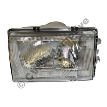 Headlamp H4, 240/260 '81-'93 LH (NB! For RH traffic)