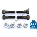 Bolt kit propshaft flange type 1140 (for UJs 672037, 1217606)