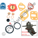 "Repair kit, AC pump 419291 (1965-'69) (""Diving-bell"" lid on pump)"