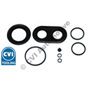 Repair kit, 1 front caliper (B18 3-pot) (Amazon/P1800 1962-1968)