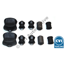 Bushing kit rear Az/1800 68-73 (State chassis number)