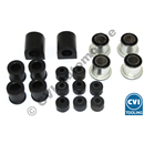 Bushing kit front axle, 62-73 Amazon + 1800