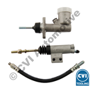 Clutch hydraulics kit P1800 -1968 ( LHD/RHD - without pipe)