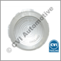 Flasher lens P1800 clear ch#1-6000 (NB. Lucas L670 genuine)