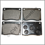 Brake pad set, Amazon/1800 (B18) (for competition use only)