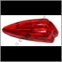 Baklampsglas PV444 '54-'56, hö (444 typ H-K)