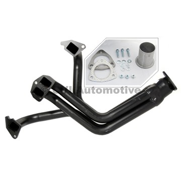 Exhaust extractor, B18/B20 (including fitting parts acc to photo)