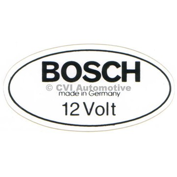 Decal, B18 coil 1967-68 (white)