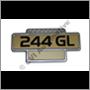 Emblem 244 GL