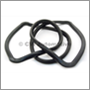 Rear screen seal, 140/164