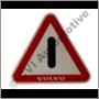 Reflector emblem, door edge