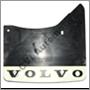 Mudflap rear, 140/164/200 '67-'85 RH (Volvo genuine with white logo)