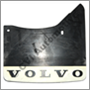 Stänkskydd bak, 140/164/200 '74-'85 hö (Volvo original med vit bottendel)