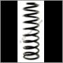 Bakfjäder förstärkt, 245/265 (Tråddiameter 13,8 mm)