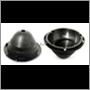 Headlamp bowl (complete), P1800 (plastic)