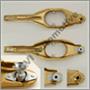 Clutch fork, Az/140/164/240 740 -1984