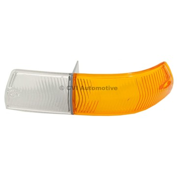 Blinkglas Orange/Vit 164 -72 V